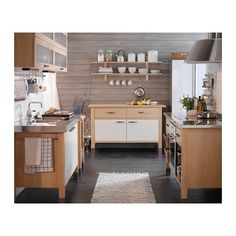 An Ikea Varde free-standing kitchen in a farmhouse outside ...