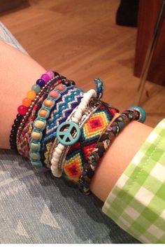 my favourite colourful bracelets :) Summer Bracelets, Colorful Bracelets, Friendship Bracelets, Jewelry, Bangle Bracelets, Jewlery, Jewerly, Schmuck, Jewels