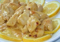 Poulet à la Sauce au Citron au Thermomix – Plat et Recette Chicken in lemon sauce with Thermomix, recipe for a tasty chicken dish with a creamy lemon flavored sauce, easy to cook with Thermomix. Healthy Chicken Recipes, Meat Recipes, Healthy Dinner Recipes, Crockpot Recipes, Dishes Recipes, Roast Meat Recipe, Lemon Sauce For Chicken, Recipe Chicken, Meat Cooking Times