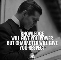 Knowledge will give you power ...