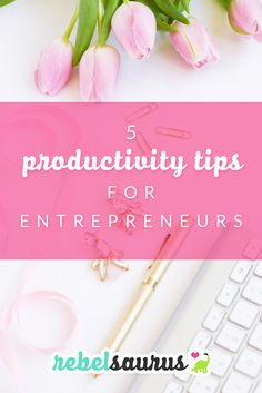 As an entrepreneur, managing your time well is very helpful in getting more done in your online business. Here are 5 productivity tips for entrepreneurs to help you get more done every day.