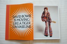 David Bowie Is Moving Like A Tiger On Vaseline