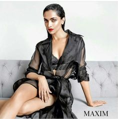 Deepika Padukone look Hot As Fire In Her Latest Maxim Photoshoot : June 2017