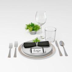 Max Tableware - 3D Model