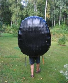 Plywood lath coracle | Free Boat Plans