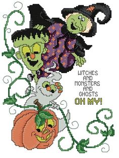 witches and monsters and ghosts oh my!