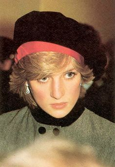 Princess Diana - the young people's princess.