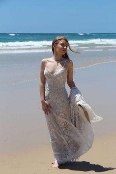 Jessa | The GC Bridal Lounge#weddingdress #dusktilstarscollection #gowns #wedding #chantillylace #chiffon