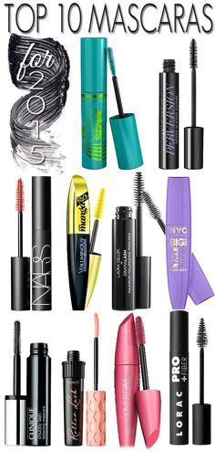 Top 10 New Mascaras for 2015