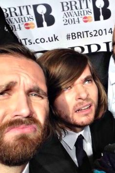 Will and Woody at the Brits