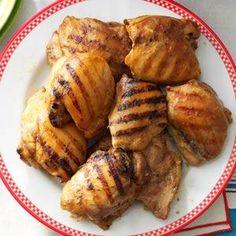 Grilled Brown Sugar-Mustard Chicken