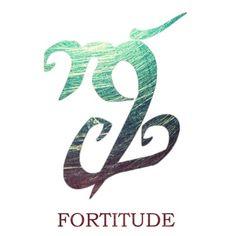 runa / determinación inquebrantable, una fortaleza mental y física para enfrentar el peligro o soportar el dolor y la adversidad con coraje.