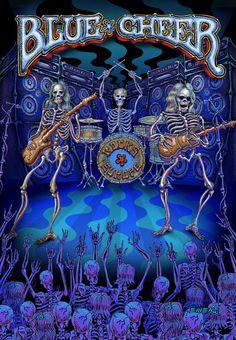 Blue Cheer - One of THEE original STONER ROCK  BANDS.. Do your homework!!  Emek