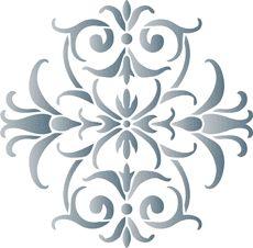 Small motif 42 (stencil for decoration)