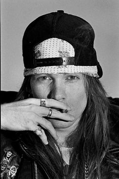 Axl Rose, Guns N' Roses at Starplex Amphitheater in Dallas, Texas, 1988 -by Ian Tilton Guns N Roses, Axl Rose Slash, 80s Hair Bands, Duff Mckagan, Welcome To The Jungle, Rock Legends, The Duff, Record Producer, Cool Bands