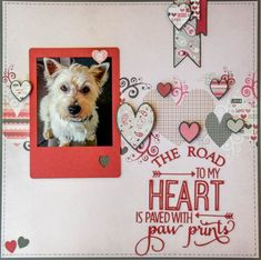 Layout: The Road To My Heart ✿Join 1,500 others and Follow the Scrapbook Pages board. Visit GrannyEnchanted.Com for thousands of digital scrapbook freebies. ✿ Scrapbook Pages Board URL: https://www.pinterest.com/grannyenchanted/scrapbook-pages/ #scrapbooklayouts