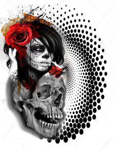 Catrina x Skull