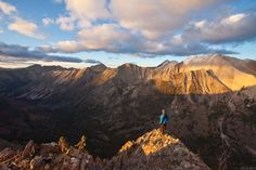 Sun Valley Magazine  Strawberry Point above Warm Spring Creek, White Cloud Mountains, Idaho. Photo by Matt Leidecker.