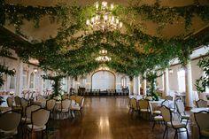 Indoor Garden Wedding Theme with Wine and Dine Style: Indoor-wedding-Elegant-Carmel-Wedding-Secret-Garden-Theme-Wedding Event Themes, Wedding Themes, Event Decor, Our Wedding, Wedding Venues, Dream Wedding, Wedding Country, Trendy Wedding, Wedding Parties
