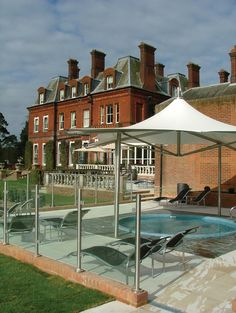 Relaxing Outdoor Jacuzzi With Stunning Views At Champneys Tring Spa Resort Hertfordshire A Long Soak In One Of These Is Just What I Need Today Bring On