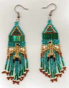 Free Native American Beadwork Patterns | Native American Bead Patterns