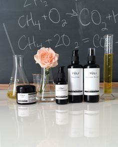 YULI skincare is advanced technology science honoring nature.