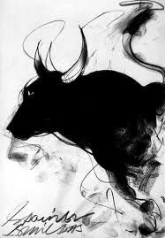 Charcoal Drawing Design Bulls and charcoal go together very well Metal Pen, Drawing Techniques, Designs To Draw, Easy Drawings, Concept Art, Moose Art, Illustration Art, Black And White, Artwork
