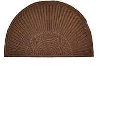 Imports Decor Synthetic Half Round Door Mat (Interior)