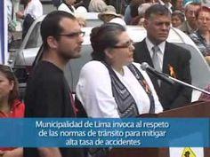 Municipalidad de Lima invoca al respeto de las normas de tránsito