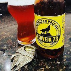 Foto e texto por por  @marceloml_c73 Compartilhe também suas experiências #padawancervejeiro  Então cervejeiros .....hoje é dia de participar da campanha da @confraria27 q consiste em incentivar o consumo das cervejas locais #bebalocalnac27 ....sendo assim nao poderia deixar de trazer a #cerveja73 ....uma bela Pale Ale com toque de gengibre ....fabricada em Penedo no Rio de Janeiro ....saúde a todos e um otimo domingo  #cerveja73 #bebalocalnac27 #confraria27 #comandocervejeiro…