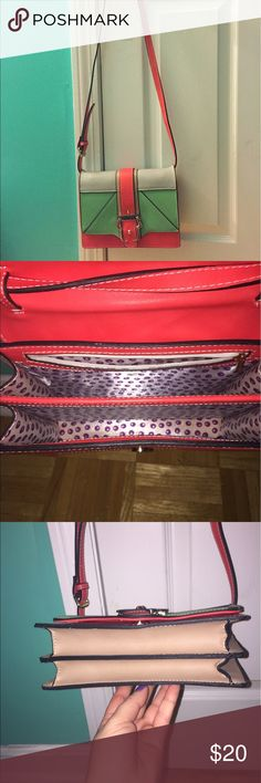 Funky crossbody *SALE* Bought from Red Dress Boutique. Tags removed but never used. Very cute! Bags Crossbody Bags