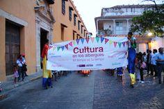 Las calles de Cartagena con Cultura en los albergues