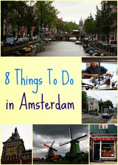 Rachel Cotterill: 8 Things To Do In Amsterdam
