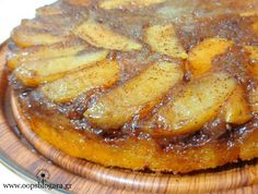 The most delicious apple pie – New Cake Ideas Easy Baking Recipes, Sweets Recipes, Apple Recipes, Cake Recipes, Cooking Recipes, Greek Desserts, Greek Recipes, Greek Cake, Cookie Cake Pie
