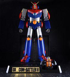 【前編・合体前】12月29日、至高のトイが誕生する―「DX超合金魂 超電磁ロボ コン・バトラーV」サンプルレビュー Armature, Japanese Robot, Super Robot, Robots, Darth Vader, Toys, Anime, Character, Templates