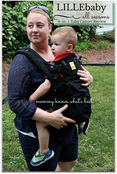 LILLEbaby Complete All Seasons 6-in-1  Baby Carrier Review #lillebaby #lillelove ad