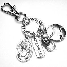 SOFTBALL Athletes Patron St. Sebastian Catholic Holy Medal St Sebastian, Patron Saints, Softball, Athletes, Catholic, Personalized Items, Trending Outfits, Unique Jewelry, Handmade Gifts