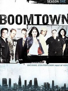 Boomtown - Season One (DVD, 2004, 5-Disc Set) 1 detectives Donnie Wahlberg, Neal