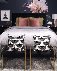 Fantastic home decor tips are offered on our web pages. Read more and you wont be sorry you did. Elegant Home Decor, Elegant Homes, Cheap Home Decor, Home Bedroom, Modern Bedroom, Bedroom Decor, Decorating Bedrooms, Interior Decorating, Living Room Designs