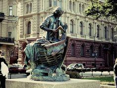 Необычные памятники Петербурга. Царь-плотник, Адмиралтейская набережная, 6