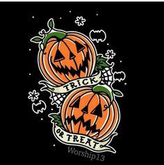 Halloween Horror, Spooky Halloween, Vintage Halloween, Halloween Tattoo, Body Art Tattoos, Tattoo Drawings, Sleeve Tattoos, Tatoos, Spooky Tattoos