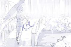 [YCH Auction] Hydrangea [CLOSED] by tshuki.deviantart.com on @DeviantArt