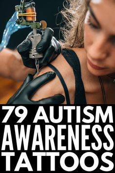 79 Meaningful Autism Tattoos to Raise Autism Awareness Puzzle Piece Tattoo Autism, Puzzle Tattoos, Autism Awareness Tattoo, Autism Tattoos, Girls With Sleeve Tattoos, Tattoos For Guys, Tattoos For Women, Brother Tattoos, Sister Tattoos
