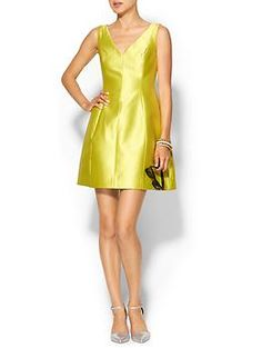 Kate Spade New York Structured Silk Mini Dress | Piperlime