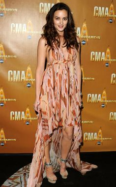Leighton Meester from 2010 CMA Awards | E! Online