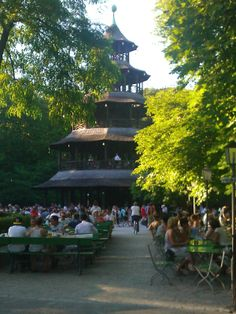Popular  Teehaus Englischer Garten Late summer