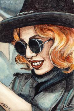 Gaga in Little Paris Helen Green