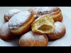 KROFNE- DONUTS -TAČNA MERA ZA POČETNIKE - YouTube Kolaci I Torte, Doughnut, Donuts, Sweets, Cooking, Youtube, Desserts, Recipes, Food