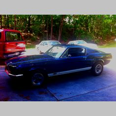 My dad's '67 Fastback.