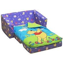 Winnie The Pooh Flip Out Sofa With Slumber Bag